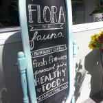 Flora and Fauna signboard