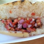 "Comida do Sul ""Vegipan"" hot dog (minus mayo)"
