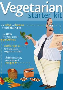 Image: Vegetarian starter kit