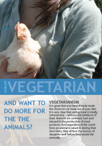Image: Vegetarian and want to do more